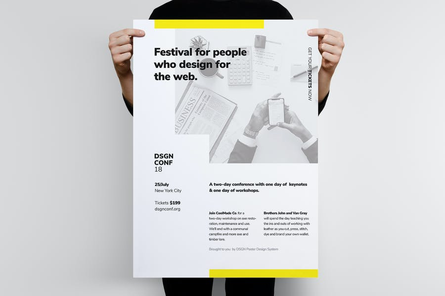 DSGN Series 10 Poster Template