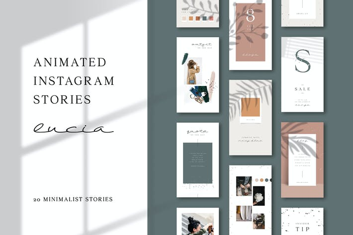 Thumbnail for ANIMATED Instagram Stories – Lucia