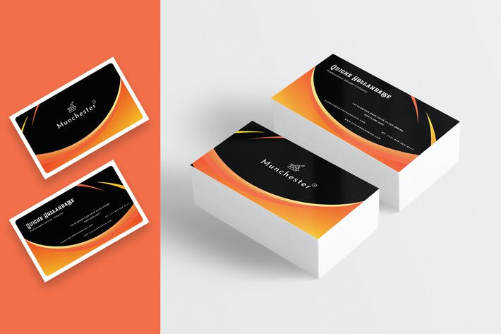 Thumbnail for Abstract Business Card Template-02