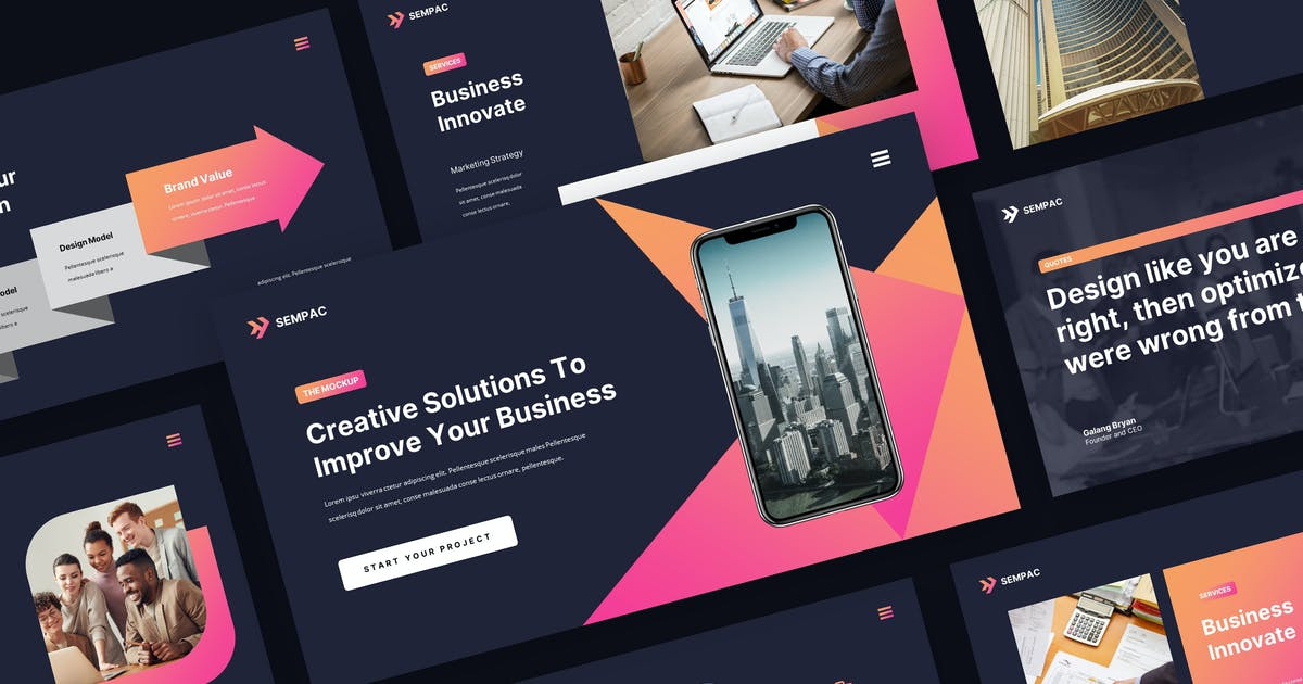 Download SEMPAC - Business Marketing Keynote Template by rgbryand