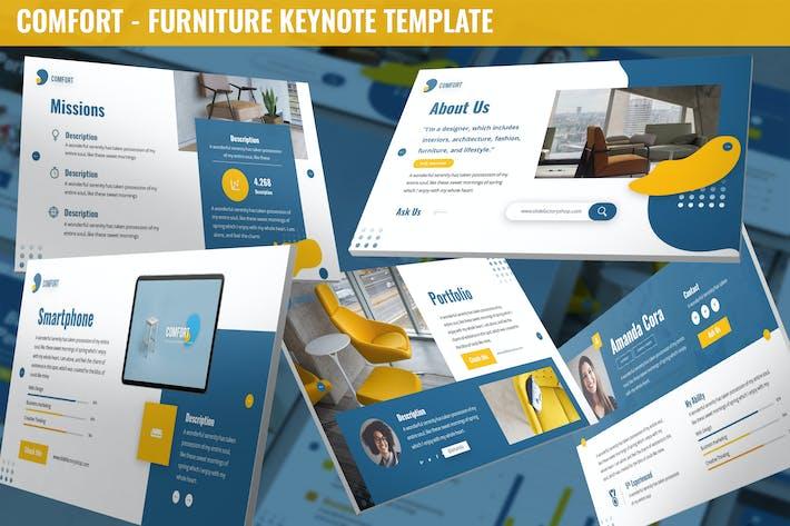 Thumbnail for Comfort - Furniture Keynote Template