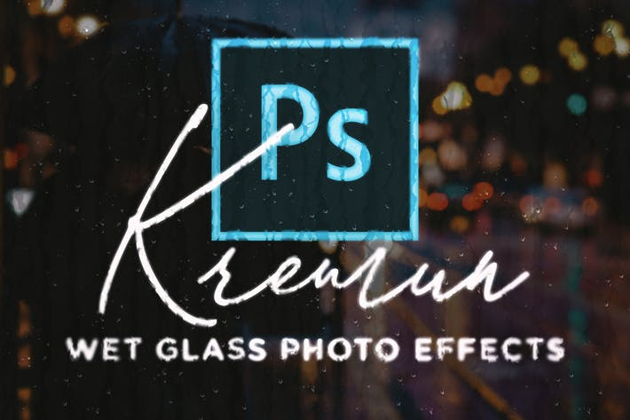 Kremun - Wet Glass Photo Effect
