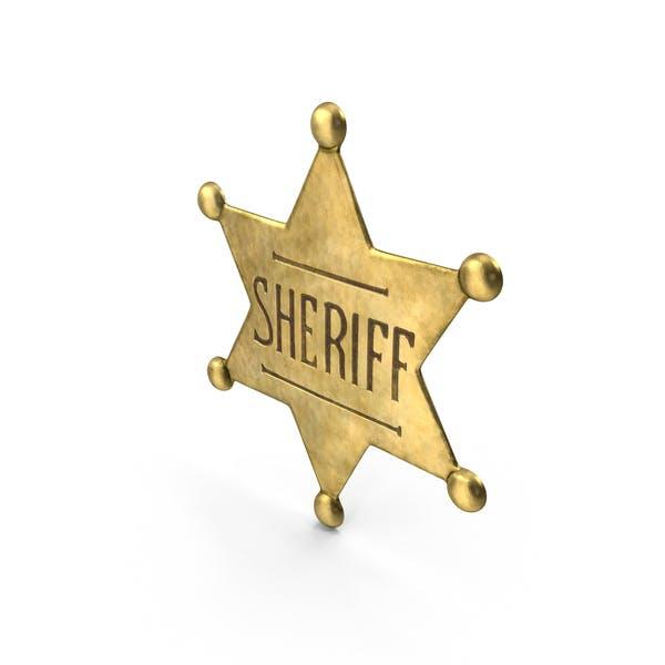 Western Sheriff Badge