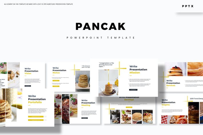 Cover Image For Pancak - Powerpoint Template