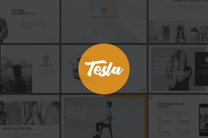 Thumbnail for Tesla Google Slides Presentation