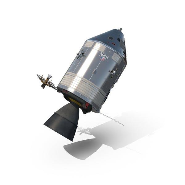 Cover Image for Apollo Command Service Module Spacecraft
