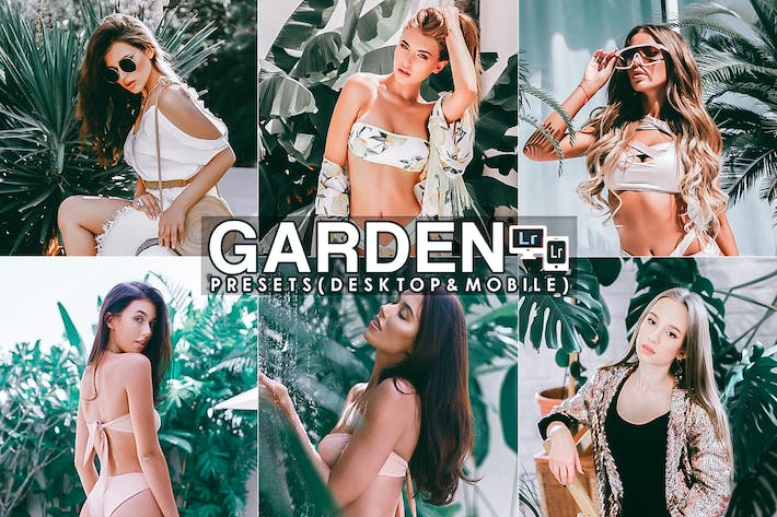 Thumbnail for Garden Portrait Lightroom Presets