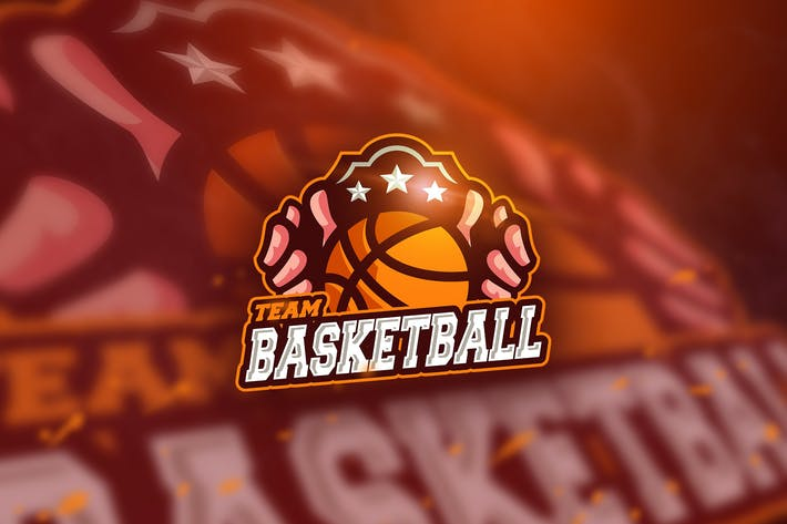 Thumbnail for Basketball Team - Mascot & Esport Logo