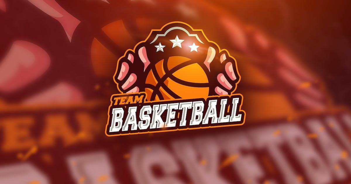 Basketball Team - Mascot & Esport Logo by aqrstudio