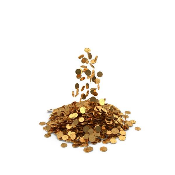 Thumbnail for Haufen Goldmünzen Bitcoin