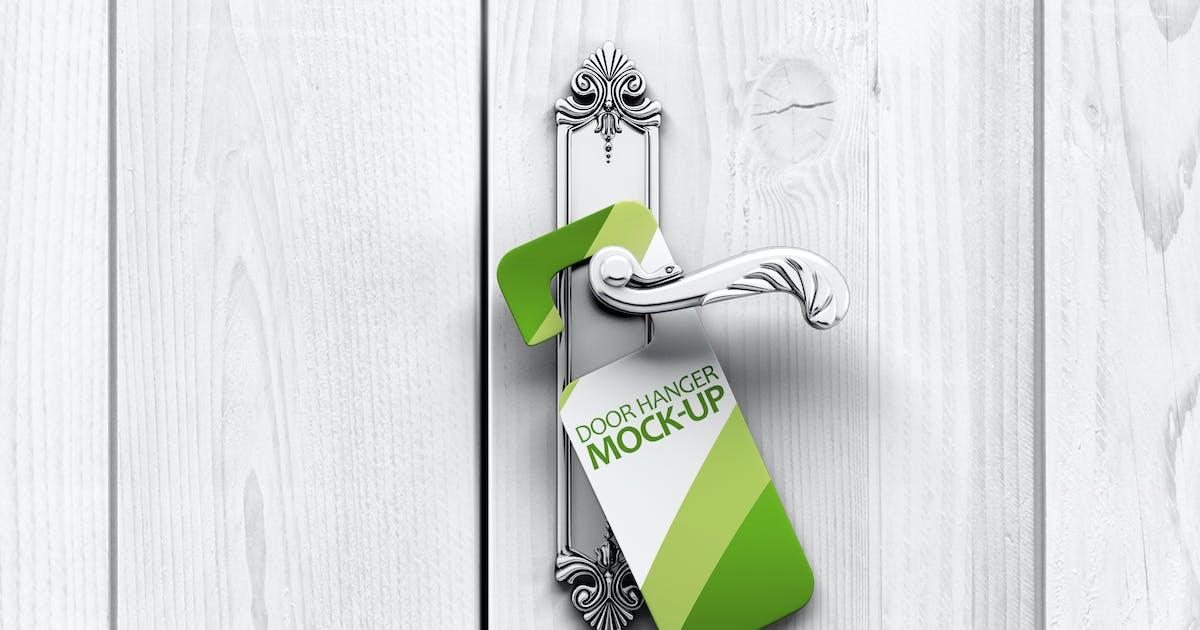 Download Door Hanger Mock-Up by L5Design