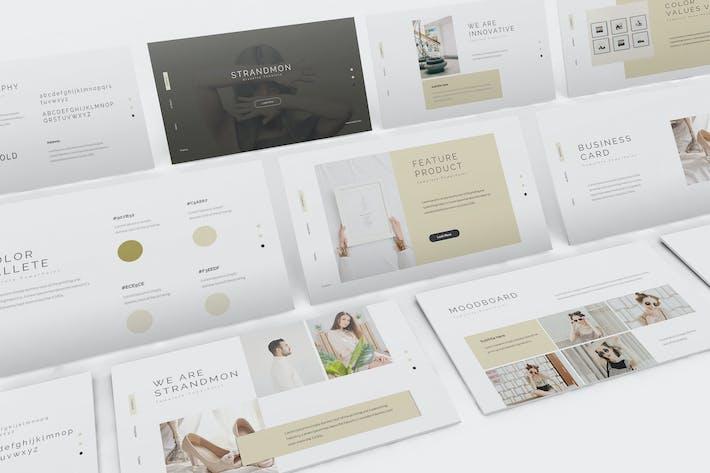 Thumbnail for Strandmon Branding Google Slides Presentation