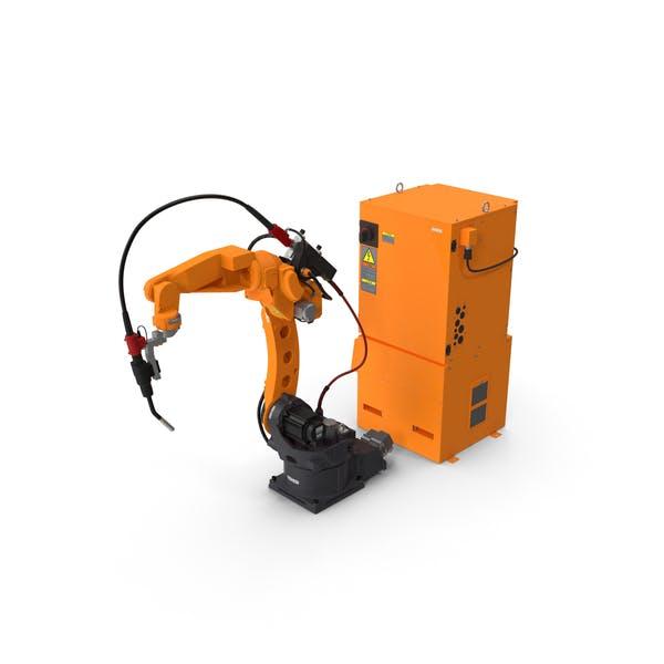 Универсальный сварочный робот с блоком питания