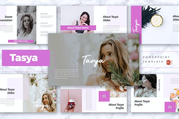 Thumbnail for TASYA - Creative Powerpoint Template