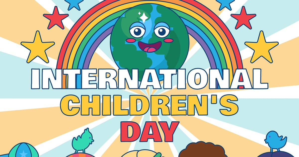 Download International Children's Day Illustration by barsrsind
