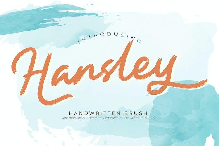 Thumbnail for Hansley | Рукописная кисть