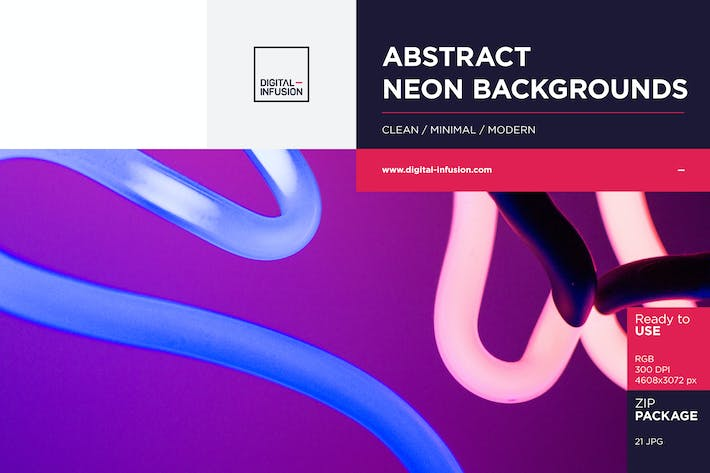 Thumbnail for Neon Abstract Backgrounds