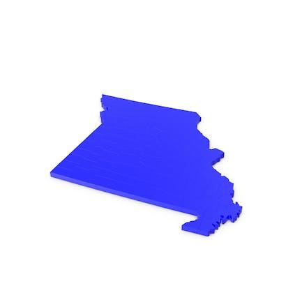 Карта графств Миссури