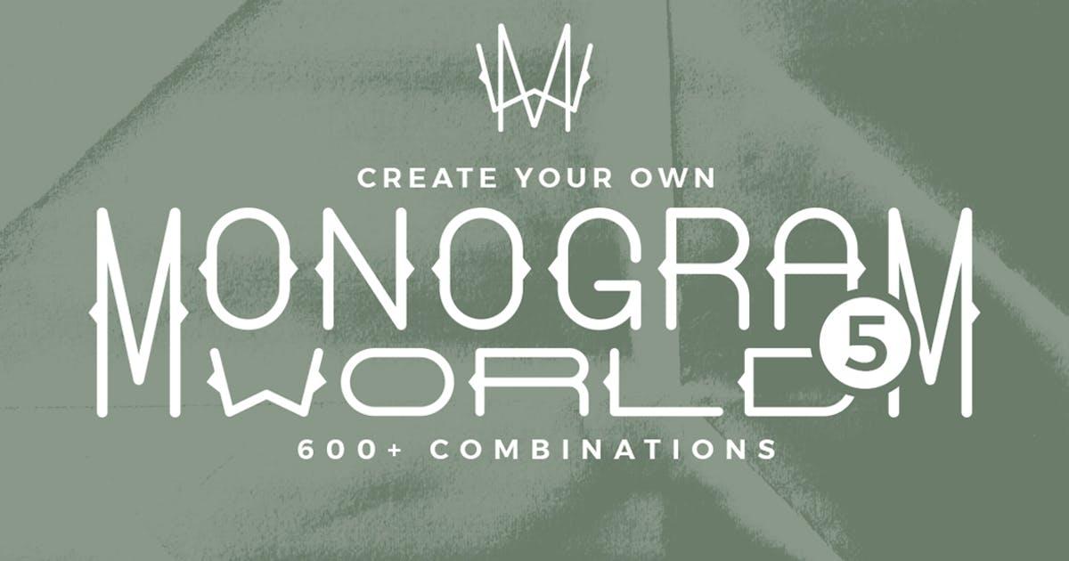 Download Monogram World Deco by Mihis_Design