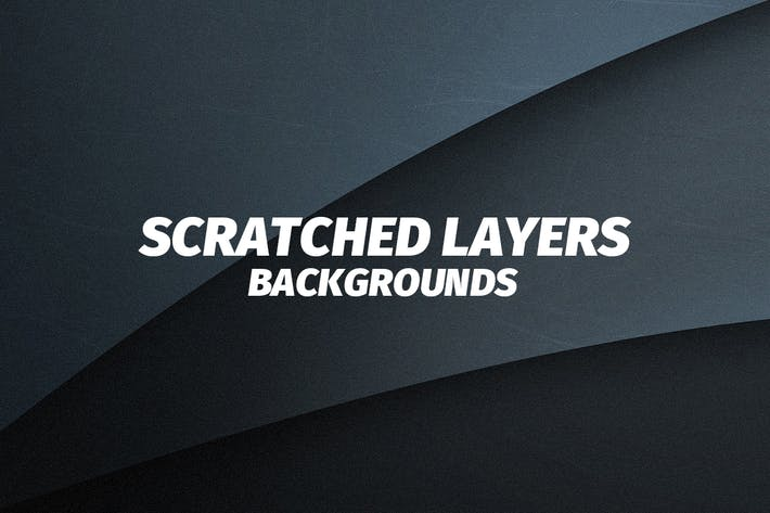 Thumbnail for Scratched Flat Layers Backgrounds