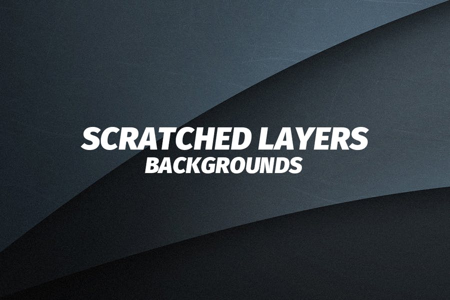 Scratched Flat Layers Backgrounds