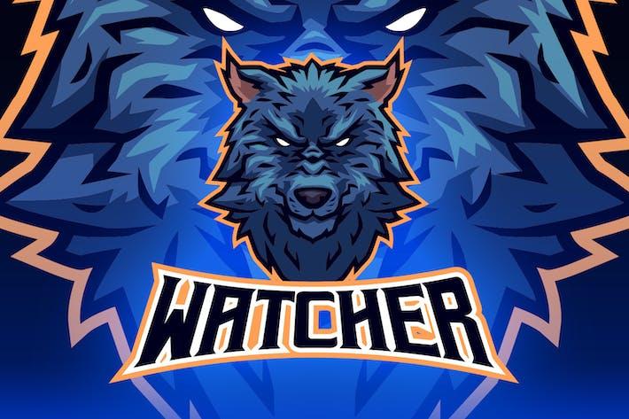 Thumbnail for Wolf Head Esports Logo