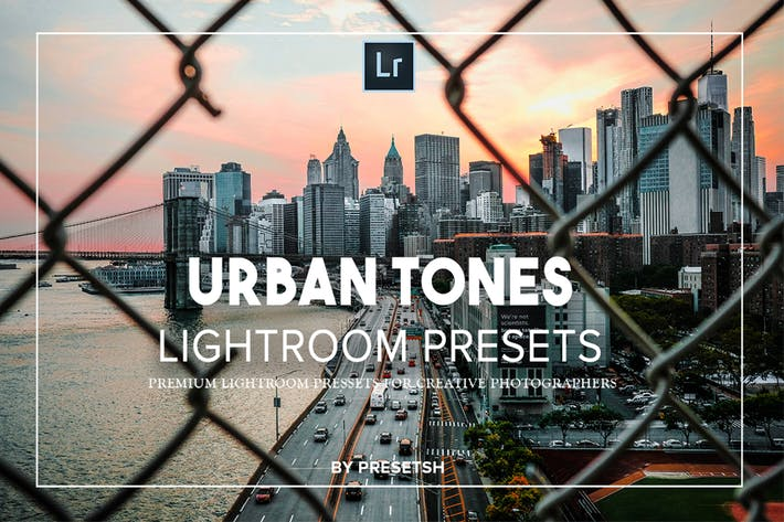 Thumbnail for Urban tones Lightroom-Presets