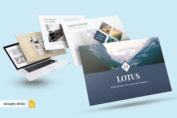 Thumbnail for LOTUS - Google FolienVorlage V226