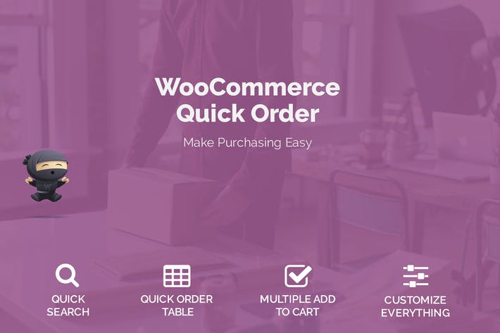 Thumbnail for WooCommerce Quick Order