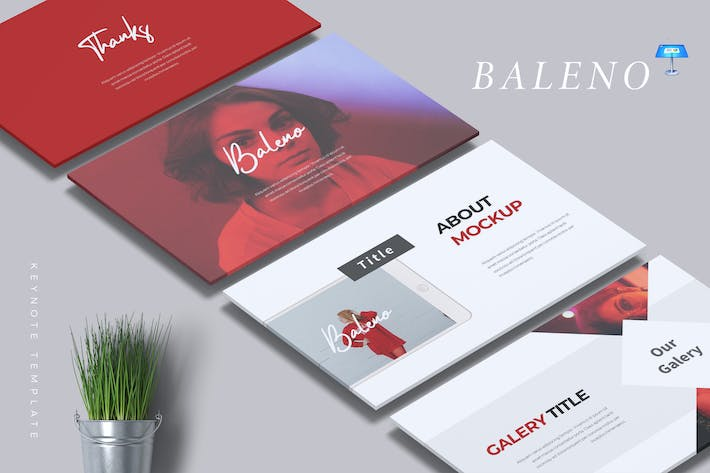 Thumbnail for BALENO - Creative Keynote Template