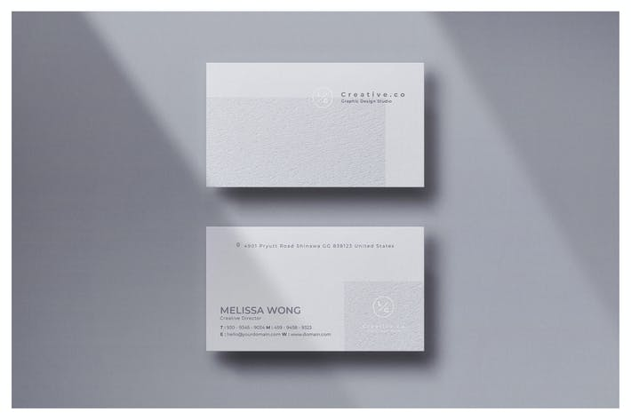 Thumbnail for Minimal Business Card - Vol.20
