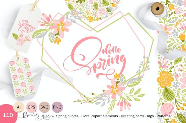 Thumbnail for Fresh Feeling Spring Vector Kit SVG