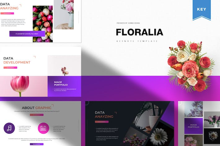 Thumbnail for Floralia | Keynote Template