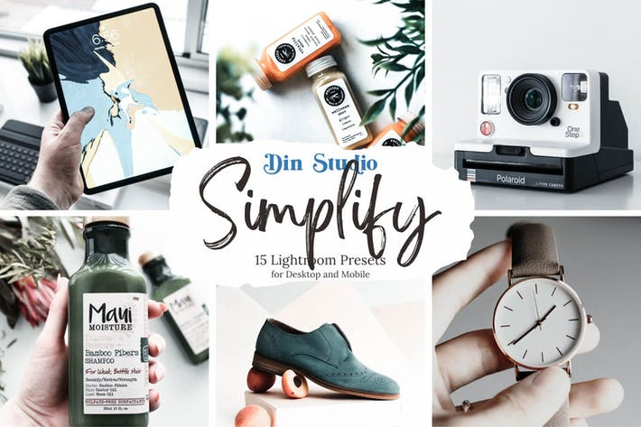 Thumbnail for Simplify Lightroom Presets