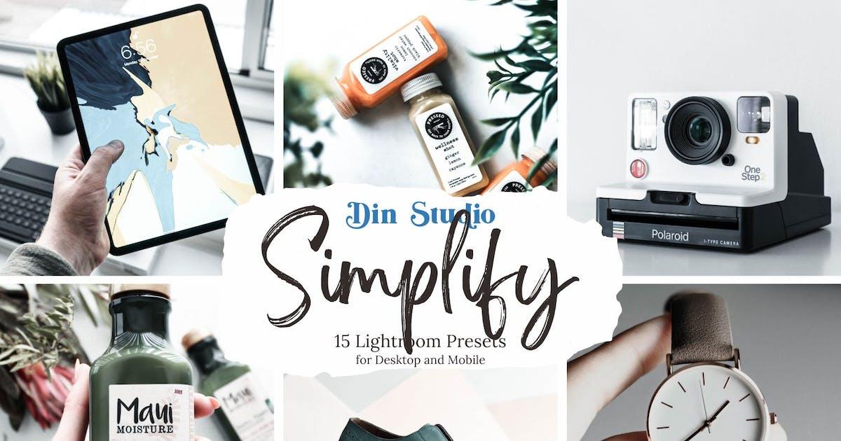 Download Simplify Lightroom Presets by Din-Studio