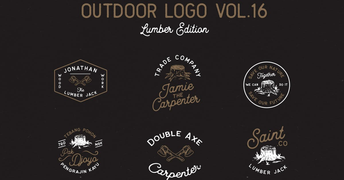 Download Outdoor Logo Vol.16 by letterhend