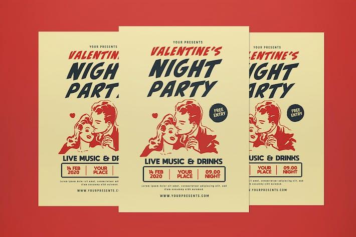Cover Image For dépliant de fête de la Saint-Valentin