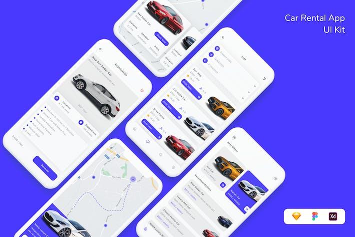 Car Rental App UI Kit