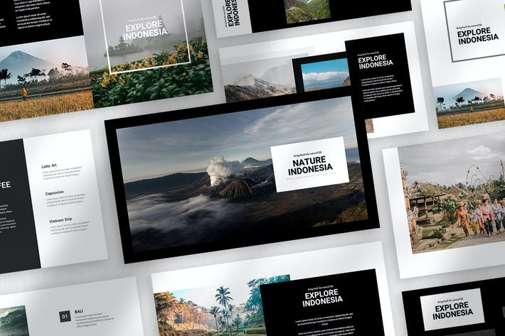 Thumbnail for Nature Indonesia Powerpoint Template