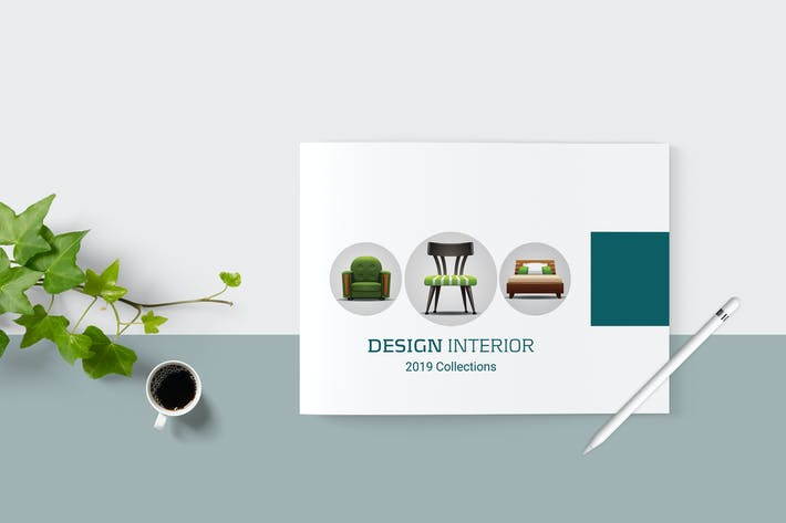 Cover Image For Simple Interior Brochure