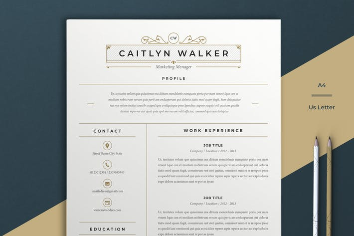 Thumbnail for Resume Caitlyn
