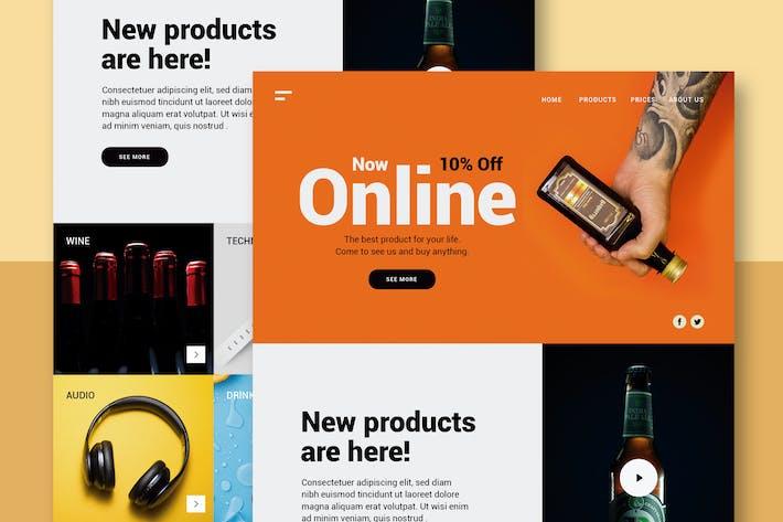 Thumbnail for Store Online - Website