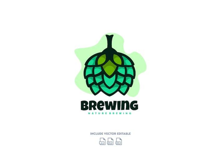 Thumbnail for Hop Brewing Logo Design Template