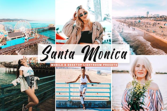 Пресеты для мобильных и настольных ПК Santa Monica