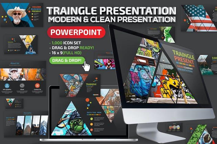 Thumbnail for Презентация треугольника Powerpoint