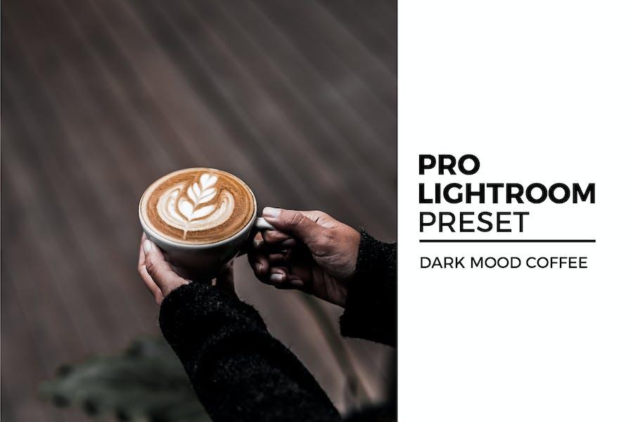 Dark Mood Coffee Lightroom Preset