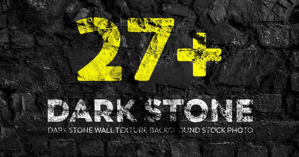 Download Dark Stone Wall Texture Backgrounds Stock Photo by mamounalbibi