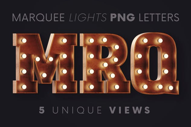 Marquee Lights - 3D Lettering