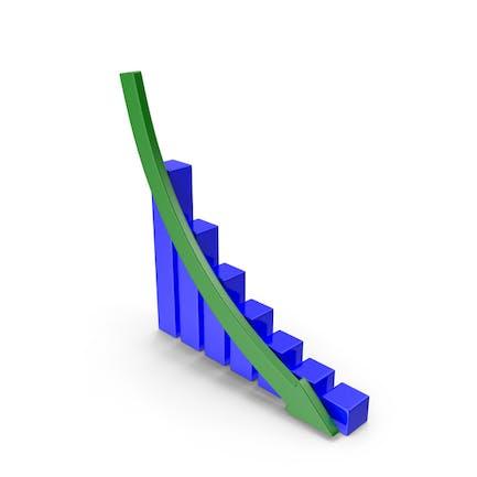 Gráfico descendente