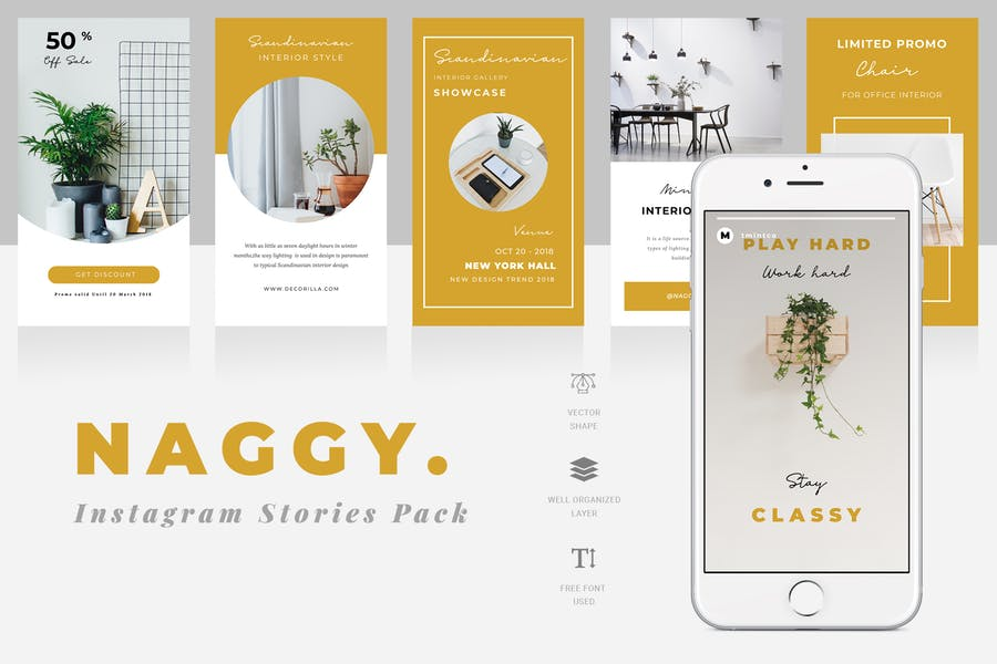 Naggy Instagram Story Template